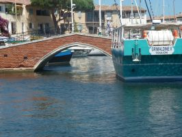 Port Grimaud Bridge by hamsternio