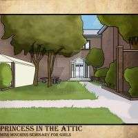Princess in the attic : outside the academy by KaLixel