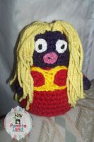 Amigurumi Jynx by sefie-ireth