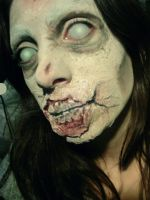 Zombie Makeup FX by CamilaCostaArt