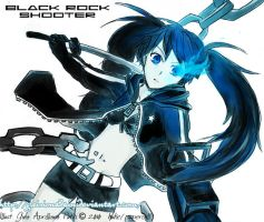 Black Rock Shooter by GXsion