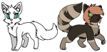 CopperPelt - Breedable :. OPEN by XBluexMoonX