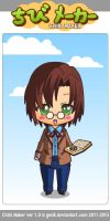 Eleventh Doctor~ Chibi by Mingbatrox108