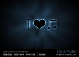 I Love Music by evaldasmix