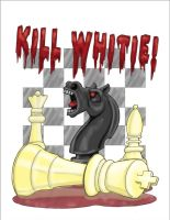 Kill Whitie Color by wayneabrown35
