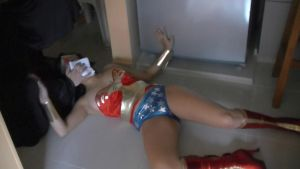 Sexy Wonder Woman:  chloroformed 3 by gcsuperheroines