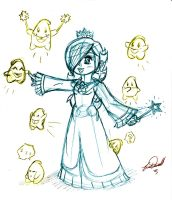 Lil Sketch2: Rosalinas Family by BlackBirdo