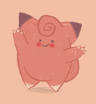 Clefairy by Bumbledom