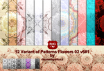 Patterns-flowers-02-v6#1 by Risorse-Di-Grafica