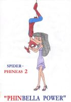 Phinbella-spiderphineas 2 by firerirock