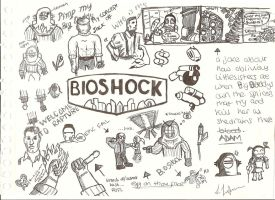 Bioshock Doodles by priorscon