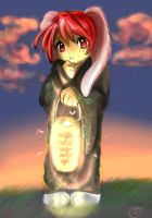 Red Bunneh Girl by AstuteObservations