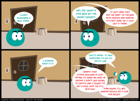 SC198 - Box by the Door by simpleCOMICS