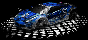 Racingcar Sig Blue Used by Neotommy