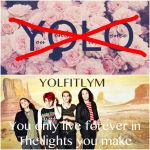 It's not YOLO by MouseKatMCR