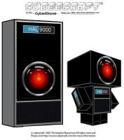Cubeecraft - HAL9000 by CyberDrone
