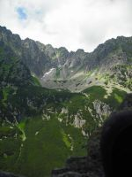 Tatry: view from black trail by omg-stock
