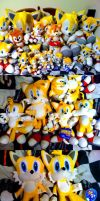 My Tails Plush Collection by game5ter