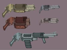 concept guns by Peachlab
