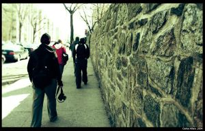 Walking around the Cloisters by progwrx