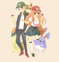 Adoptable Pokemon Trainers! AUCTION OPEN!! by SpeedyHaley