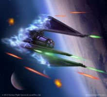 STAR WARS: X-Wing Whisper by AnthonyDevine