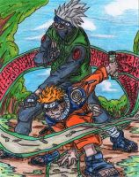 Naruto_-_ Sensei and Pupil by AkatsukiFan505