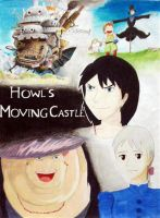 Howl's Moving Castle whole by mangaluvr12125