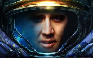Nicolas Cage Marine by optimaxion