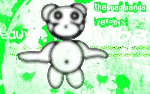 the mad panda by zer0nyx