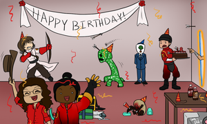 Birthday for the Jakester! by La-Mishi-Mish