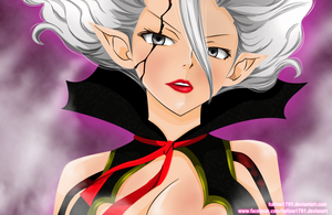 Mirajane ~ fairy tail 310 by hallow1791