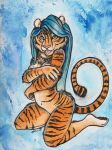 Tiger Blue by shiverz
