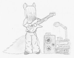 The Bassist by Explosion4295