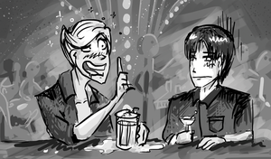 Hangout at the bar by UmmuVonNadia