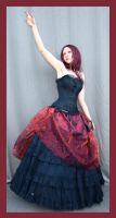 Red And Black 7 by Lisajen-stock