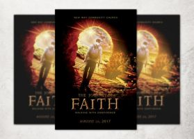 The Journey Of Faith Church Flyer Template by loswl