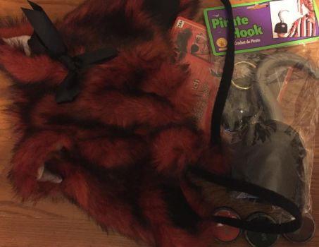 Female Foxy Cosplay Current Supplies! by WickedKittyGaming