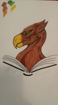 Angry Griffin 3 by vethra-ixen