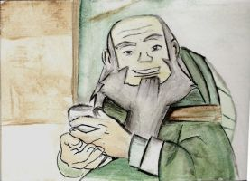 Uncle Iroh by i-am--sam