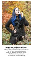 Autumn Gothic Lady Stock 001 by MADmoiselleMeliStock