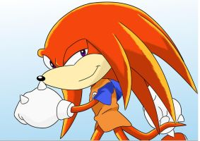 Knuckles again by Autodach
