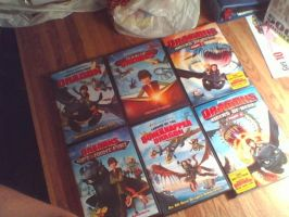 My How To Train Your Dragon DVD Collection by PokeLoveroftheWorld