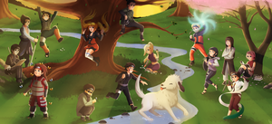CM:Konoha's Next Generation by xXUnicornXx