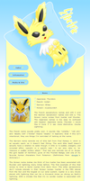 Jolteon 03 by MikariStar