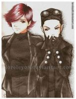 Hyde and Tetsu 1 by loreley08