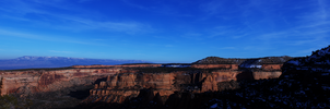 Colorado Monument Panorama 4 by Torqie