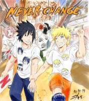 Never Change - to Naruto gift by Midorikawa-eMe111