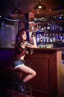 Black Lagoon - Revy ~ Bar by OniksiyaSofinikum