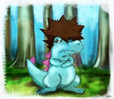 my totodile by elisiozero
